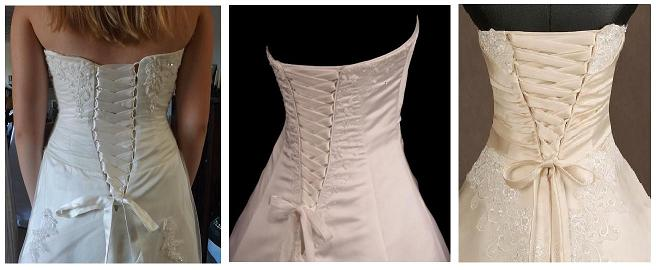 Lacing Your Wedding Gown Being Perfectly Laced On Big Day. Wedding Dresses  With Lace Up ...