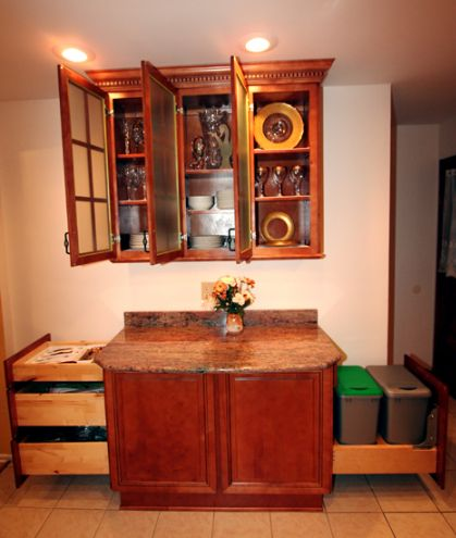 Copyright Kitchen Cabinet Discounts Planning Kitchen Planning RTA cabinets 3rd wall full open.JPG