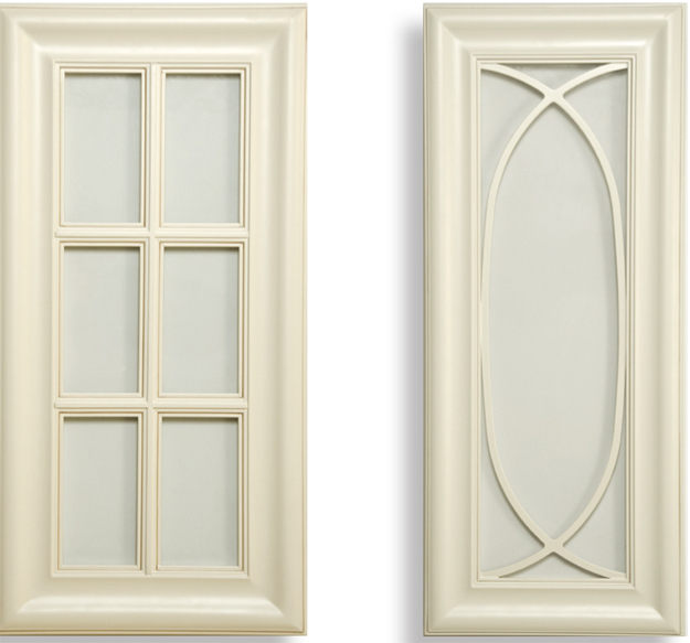 French Cream Glass Doors - Kitchen Cabinet Discounts RTA Cabinets - Kitchen Cabinet Discounts.jpg