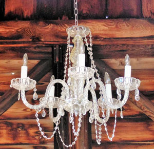 White Chandelier Image