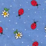 Daisies & Ladybugs Fabric
