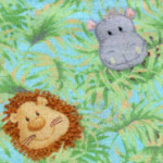Jungle Babies Fabric