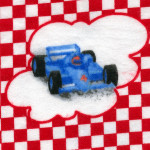 Race Cars Fabric